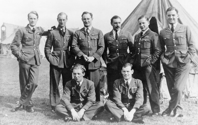 56Sqn Officers cropped